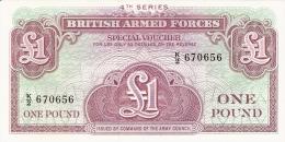 GRANDE-BRETAGNE   1 Pound   ND   P. M 36a   UNC - Military Issues