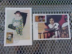 FRANCE (1975) EUROPA Peinture PICASSO , VAN DONGEN (strasbourg) - Maximum Cards