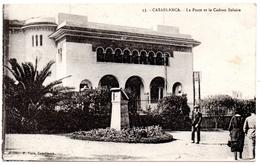 CPA  CASABLANCA La Poste Et Le Cadran SOLAIRE  Animée  10284 - Casablanca