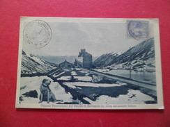 CPA Dos Divisé édition Brunner Et Cie Côme N° 353 Col Du Petit Saint Bernard Chien + Cachet Gap 24/7/1930 N°237  TB - Gap