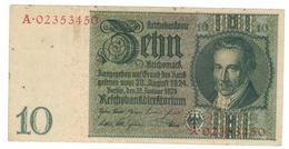 Germany , 10 Mk. 1929, VF.  Free Ship. To USA. - [ 3] 1918-1933 : Weimar Republic