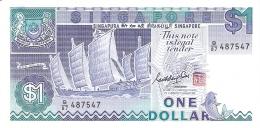 SINGAPOUR   1 Dollar   ND (1987)   P. 18a   UNC - Singapour