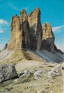 VENETO - DOLOMITI - TRE CIME DI LAVAREDO - EDIZ. GHEDINA - NUOVA NV -  TIMBRO RIFUGIO AURONZO - Alpinisme