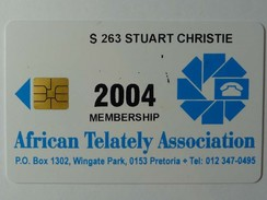 SOUTH AFRICA - Smart Card - 2004 - African Telately Association - Mint