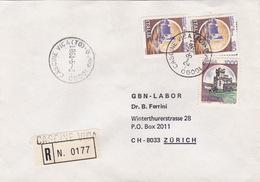 R-Brief 1981 Von Cascine Vica (TO) Nach Zürich (br0093) - 6. 1946-.. Republik