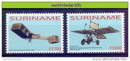Nds1224 *SPECIAL* TRANSPORT LUCHTVAART VLIEGTUIGEN PLANES FLUGZEUG AVION SURINAME 2003 PF/MNH - Vliegtuigen