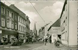 AK Hilden, Mittelstraßeo Um 1960, Briefmarke Entfernt (3817) - Hilden