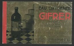 Buvard - EAU OXYGENEE GIFRER - Produits Pharmaceutiques