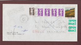 2617-18-19 De 1990 - Adresse Fantaisiste - M. FEVRIER à ORSCHWILLER. 67 - Retour Cachet De SELESTAT - Voir Les 2 Scannes - Variedades Y Curiosidades