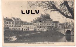 DEPT 94 : édit. B F Paris N° 17 : Joinville Le Pont Le Quai Beaubourg ( Pub Bouillon Kub ) - Joinville Le Pont