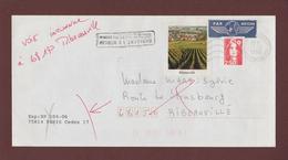 3.-2720 De 1991 - Adresse Fantaisiste - M. MARS à RIBEAUVILLE. 68 - Retour Flamme De Ribeauvillé - Voir Les 2 Scannes - Variedades Y Curiosidades