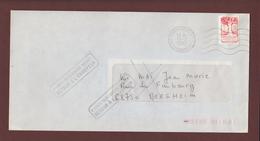 2772 De 1992 - Adresse Fantaisiste - M. MAI à BERGHEIM. 68 - Retour Flamme De Bergheim - Voir Les 2 Scannes - Variedades Y Curiosidades