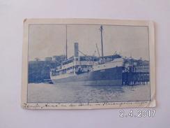 """Empreza De Navegacäo Hoepcke. - Paquete """"Anna"""" (20 - 7 - 1925) - Florianópolis"""