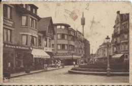 De Panne - La Panne - Sloepenlaan - Avenue Des Chaloupes - Circulé - Animée - BE - Taches - De Panne
