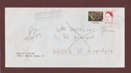 2773 De 1992 - Adresse Fantaisiste - M. SEPTEMBRE à ST.HIPPOLYTE. 68 - Retour Flamme De BERGHEIM - Voir 2 Scannes - Variedades Y Curiosidades