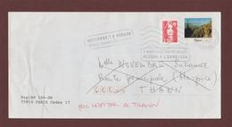3 - 2720 De 1991 - Adresse Fantaisiste - M. NOVEMBRE à THANN. 68 - Retour Cachet De Thann - Voir 2 Scannes - Variedades Y Curiosidades
