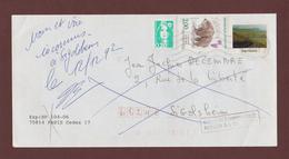 2721 De 1991 - Adresse Fantaisiste - M. DECEMBRE à SIGOLSHEIM. 68 - Retour Cachet De KAYSERSBERG - Voir 2 Scannes - Variedades Y Curiosidades