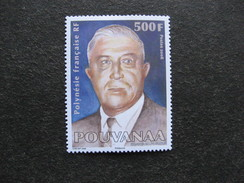 A). Polynésie:  N° 834 , Neuf XX. - Neufs