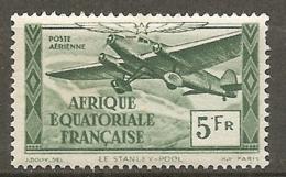 AEF -  Yv.  PA  N°  35  *  5f   Cote 1 Euro   BE R  2 Scans - A.E.F. (1936-1958)