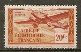 AEF -  Yv.  PA  N°  40  *  20f   Cote 1 Euro   BE   2 Scans - A.E.F. (1936-1958)