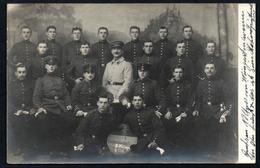A2585 - Alte Foto Ansichtskarte - 1. WK WW - Soldaten - Uniform - Korkoralschaft 5. Komp. 114 - Gel 1912 - War 1914-18