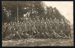 A2587 - Alte Foto Ansichtskarte - 1. WK WW - Soldaten - Uniform - 14. Landwehr Div. - Feldpost 1916 - War 1914-18