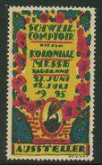 Suisse // Schweiz // Switzerland // Erinnophilie // Vignette ,Lausanne, Comptoir Suisse 1925 - Erinnophilie