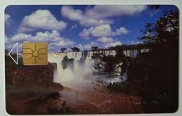 ARGENTINA - Gemplus Monetel - Iguazu Falls - 1992 - EX1 -  Trial Experimentales - 100 Units