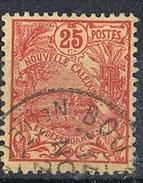 NOUVELLE-CALEDONIE N°117  Oblitération De Bourail - Gebraucht