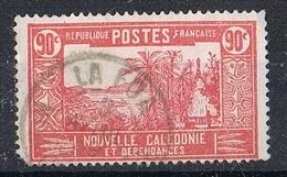 NOUVELLE-CALEDONIE N°153  Oblitération De La Foa - Gebraucht