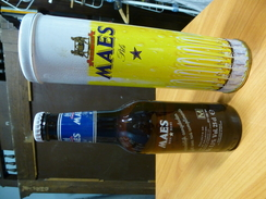 Maes Pils Anno 1994 Collector's Item Serie M Met Blikken Verpakking - Cerveza