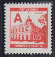 Croatia Republic Of Serbian Krajina 1996 Definitive A, MNH (**) Michel 51 - Croatie