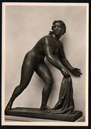 A2607 - Alte Foto Ansichtskarte - Haus Der Deutschen Kunst - Peter Otto Heim - Fliehendes Mädchen - Hoffmann - Sculptures