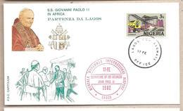 Nigeria - Busta Con Annullo Speciale: Visita Di S.S. Giovanni Paolo II - 1982 - Papas