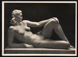 A2609 - Alte Foto Ansichtskarte - Haus Der Deutschen Kunst - Fritz Klimsch - Die Woge - Hoffmann - Sculture