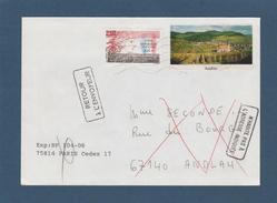 2771 De 1992 - Adresse Fantaisiste - M. SECONDE à ANDLAU. 67 - Retour Cachet De Andlau - Voir 2 Scannes - Variedades Y Curiosidades