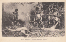 Océanie - Nouvelle-Hébrides Vanuatu - Précurseur -Chasse àl'Homme - Cannibalisme -  Editeur Bergeret - Vanuatu