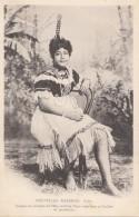Océanie - Nouvelle-Hébrides Vanuatu - Précurseur -  Femme Bijoux Costume Fête - Aoba - Editeur Bergeret - Vanuatu