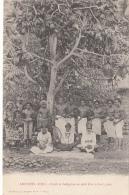 Océanie - Archipel Fidji - Précurseur -  Chefs Et Indigènes Sous Arbre à Pain - Editeur Bergeret - Fidji