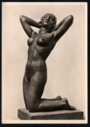 A2615 - Alte Foto Ansichtskarte - Haus Der Deutschen Kunst - Alfred Brumme - Die Erblühende - Hoffmann - Sculptures