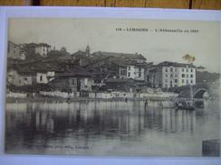 Limoges L'Abbessaille En 1880 - Limoges
