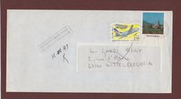 2778 De 1992 - Adresse Fantaisiste - M. LUNDI à WITTELBERGHEIM. 67 - Cachet Retour De BARR - Voir 2 Scannes - Variedades Y Curiosidades