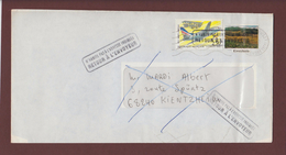 2778 De 1992 - Adresse Fantaisiste - M. MARDI à KIENTZHEIM. 68 - Voir 2 Scannes - Variedades Y Curiosidades