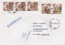 Eil-Brief 1981 Von Bologna Nach Zürich (br0102) - 6. 1946-.. Republic