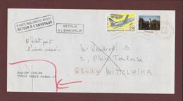 2778 De 1992 - Adresse Fantaisiste - M. VENDREDI à MITTELWIHR. 68 - Cachet Retour De BENNWIHR - Voir 2 Scannes - Variedades Y Curiosidades