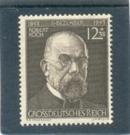 1944 ALLEMAGNE Y & T N° 783 ( ** ) Dr Kock - Duitsland