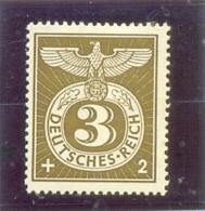 1943 ALLEMAGNE Y & T N° 762 ( * ) Secours D' Hiver - Duitsland