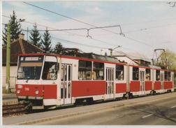 Tram Bahn Station Strassenbahn Hungary Miskolc 1 Tatra Diosgyor Post Card Postkarte Karte 6428 POSTCARD - Tramways