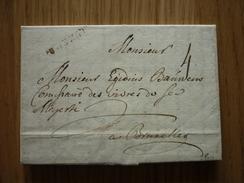 Luxemburg/Luxembourg - Lettre Avec Contenu Datée 1749 De Luxembourg-Ville à Bruxelles (Goebel AL 13), Signé R. Goebel - Luxembourg