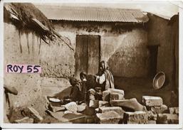 Etiopia Colonie Italiane Veduta Interno Casa Abissina - Ethiopia